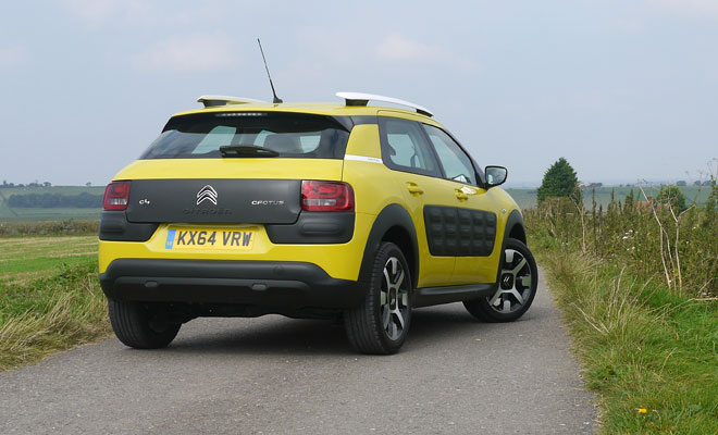 Citroen C4 Cactus rear view