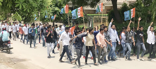 Students of BJP will answer anti-student policies, vote of vote: Krishna Atri