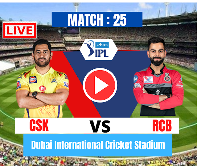 DREAM11 IPL 2020, MATCH 25: CSK VS RCB, Royal Challengers Bangalore have won the toss and have opted to bat