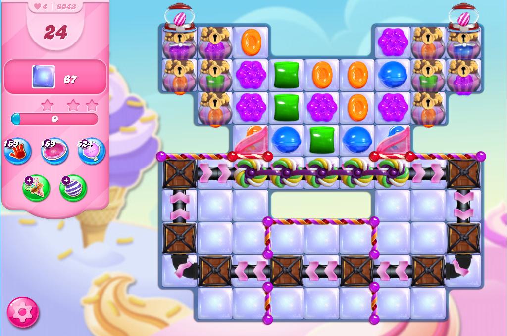 Candy Crush Saga level 6043