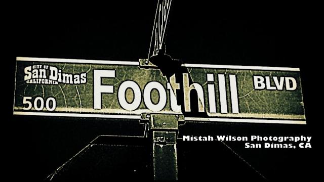 Foothill Boulevard, San Dimas, California by Mistah Wilson