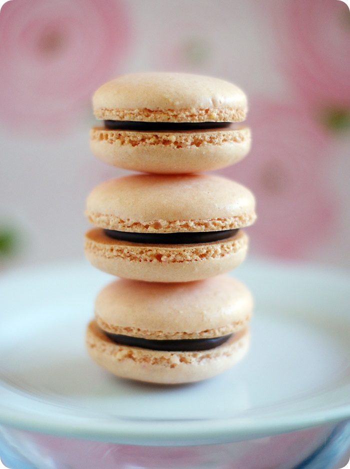 simple macarons