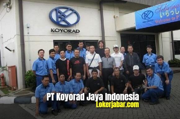 Lowongan Kerja PT Koyorad Jaya Indoneia 2021