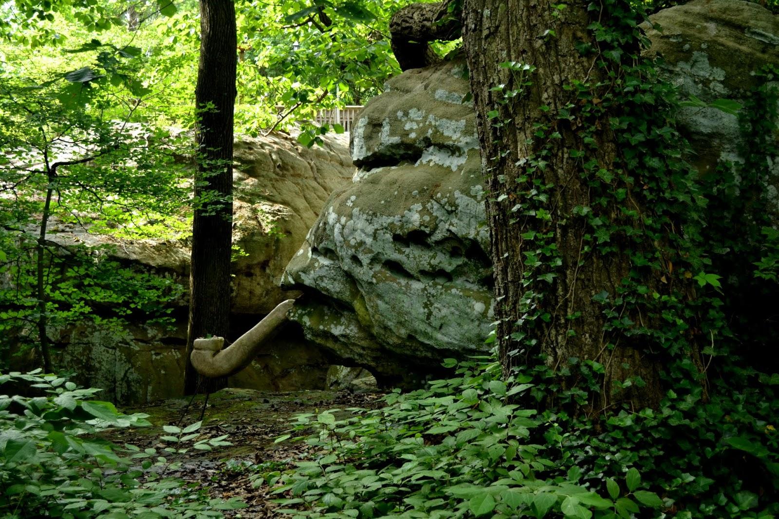 Каменный Город, Джорджия (Rock City, Lookout Mountain, Georgia)