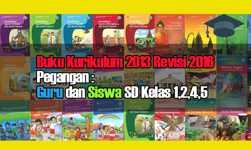 Buku Kurikulum 2013 Revisi Pegangan Guru Dan Siswa Sd Kelas 1 2 4 5 Wiki Edukasi