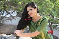 Akshitha cute beauty in Green Salwar at Satya Gang Movie Audio Success meet ~  Exclusive Galleries 025.jpg