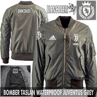 Jaket Bomber Jokowi Juventus