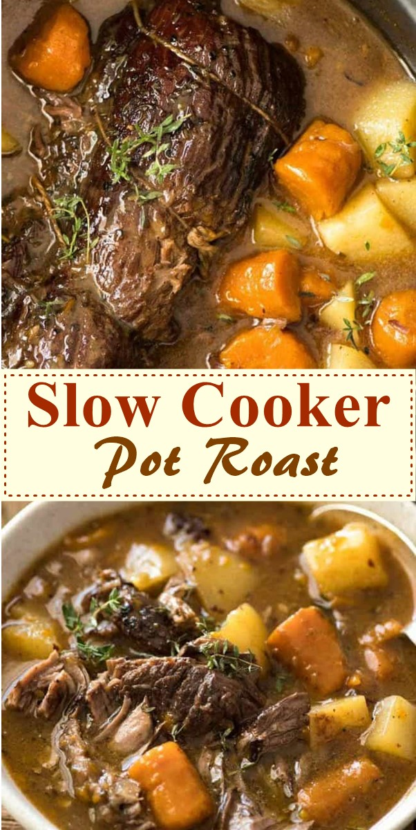 Slow Cooker Pot Roast #slowcooker