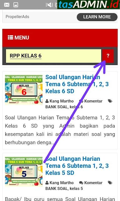 cari RPP di website kang martho