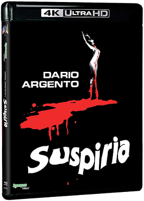 Side B of Synapse Films' cover for their upcoming SUSPIRIA 4K UHD release!