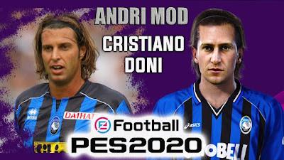 PES 2020 Faces Cristiano Doni by Andri Mod