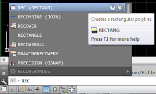 Cara Membuat Rectangle di AutoCAD