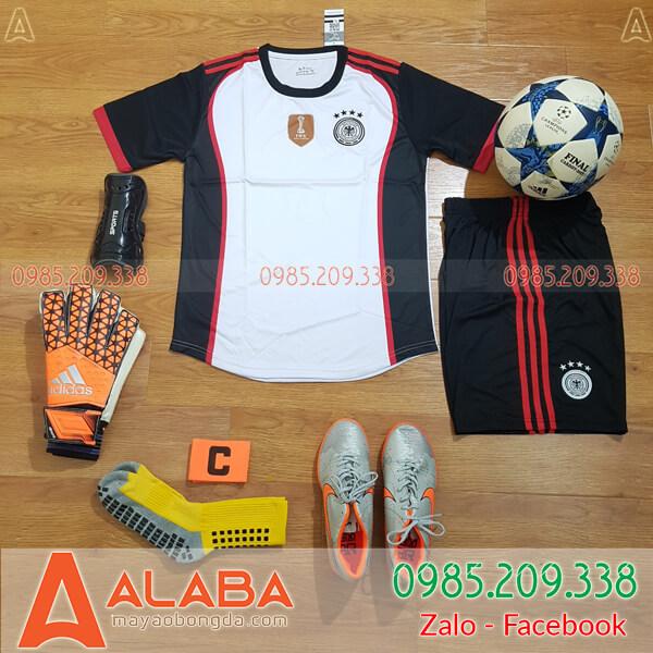 Áo Đức 2020 Training 3 Màu Trắng Đen