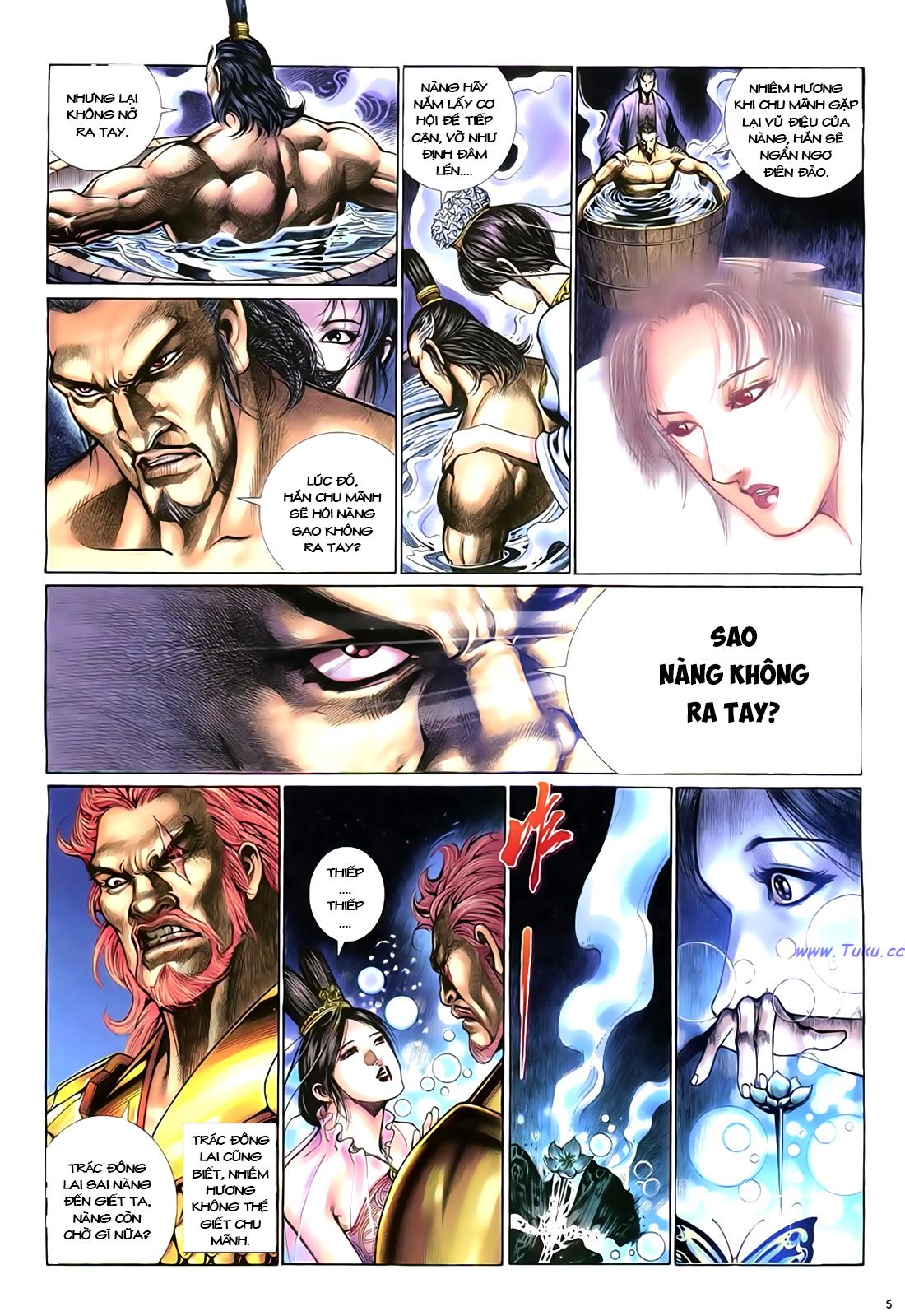 Anh hùng vô lệ Chap 18 trang 6