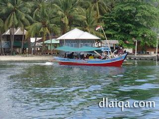meninggalkan Pulau Pahawang