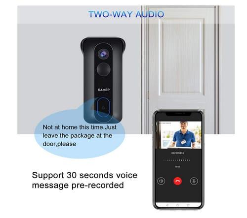 KAMEP Bell J4 2021 Wireless WiFi Video Doorbell Camera