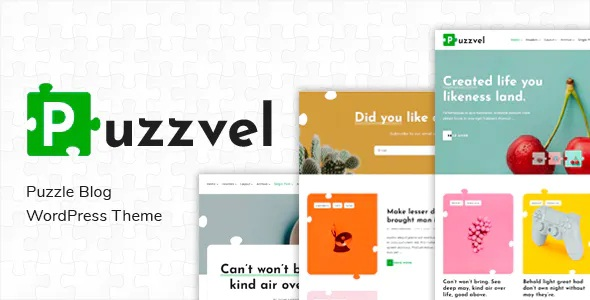 Puzzle Blog WordPress Theme