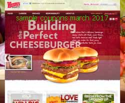 free Wendys coupons for march 2017
