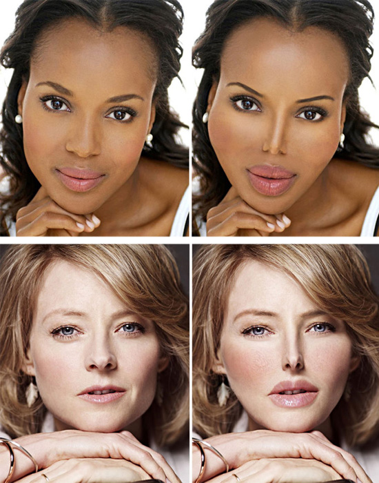 Plásticas - Kerry Washington e Jodie Foster