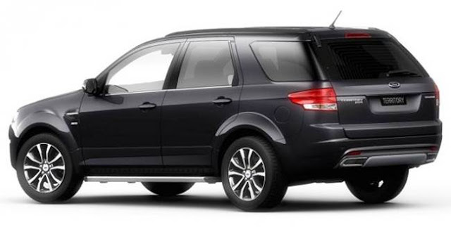 2017 Ford Territory Specs