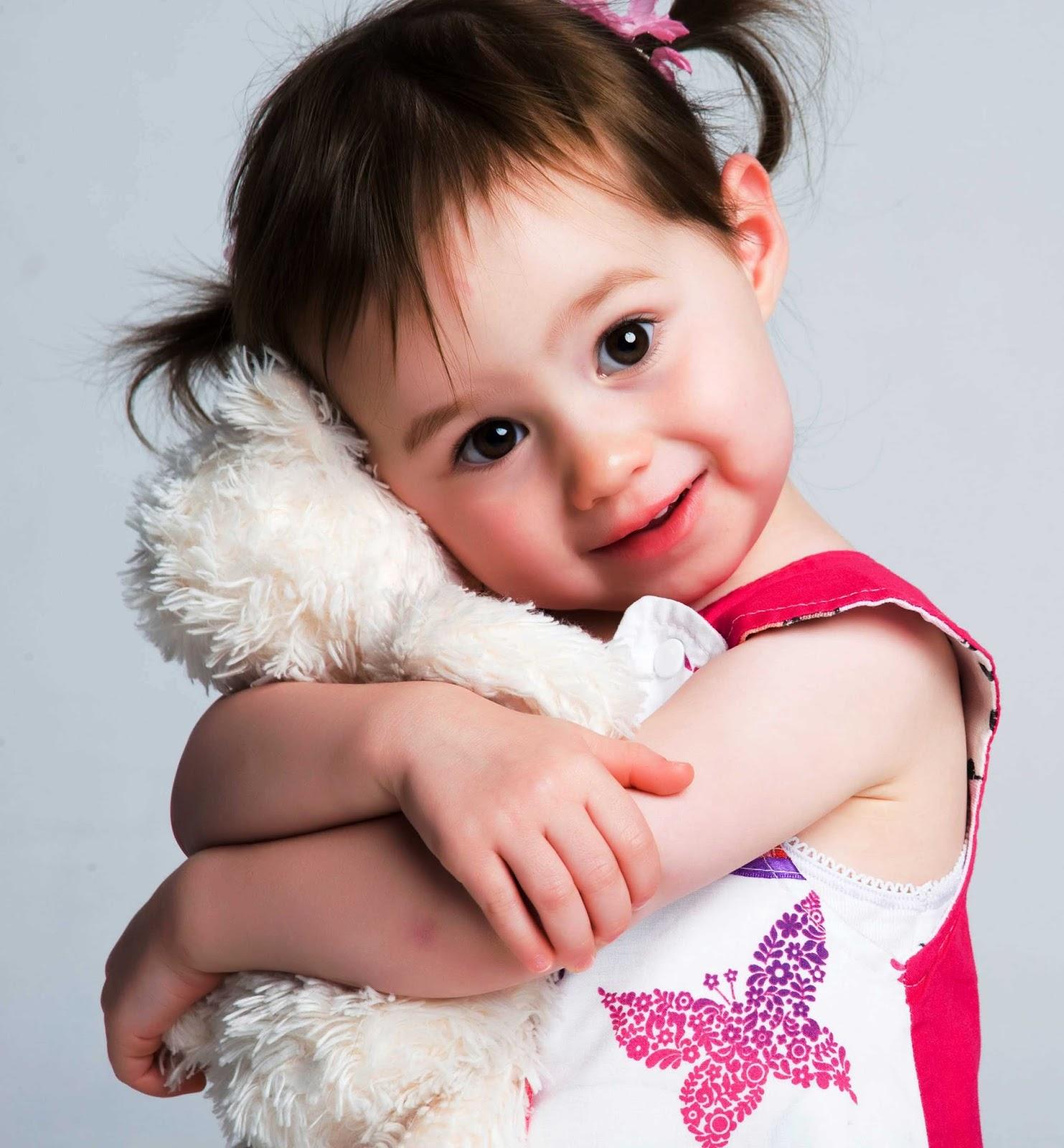 smiling baby girl image