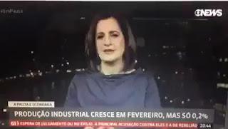 """Na Globo News, Mônica Waldvogel admite: """"O tamanho da recessão que a gente provocou"""""""