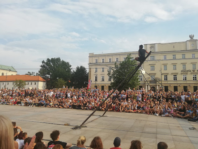 Karnawał Sztukmistrzów Lublin 2019 - Tatiana Mosio Bongonga