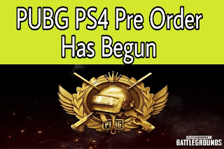 PUBG PS4 Pre-Order registration
