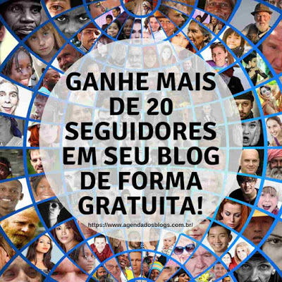 Ganhe Seguidores no seu blog no Blogger ou Wordpress.
