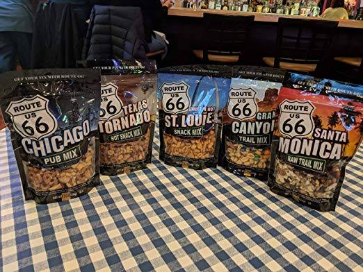 Route 66 Santa Monica Raw Mix 8 Ounce Bag, Pack of 6
