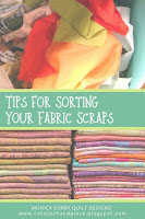 Tips for Sorting Fabric Scraps - Quilting Tutorial