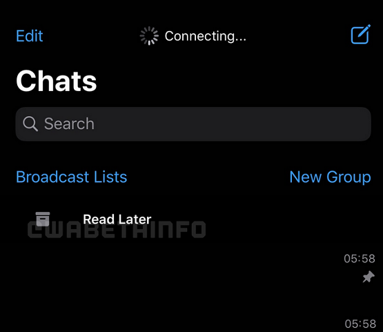 Read Later Feature Coming to WhatsApp