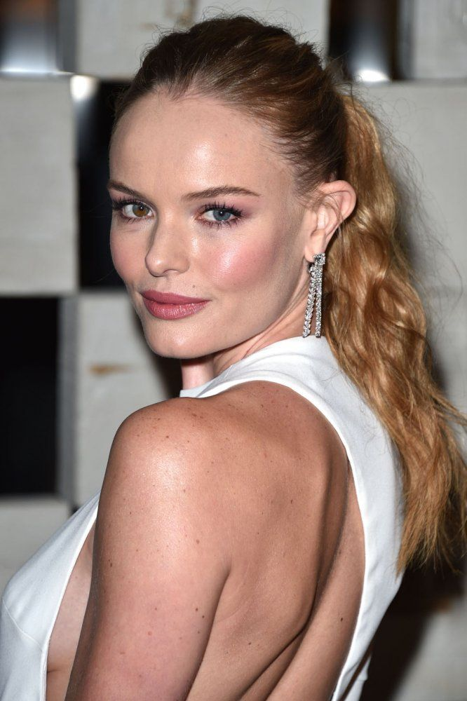 Textured Ponytail Kate Bosworth