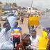 PHOTONEWS: Yoruba Nation protesters shutdown Ibadan, demand immediate release of Igboho