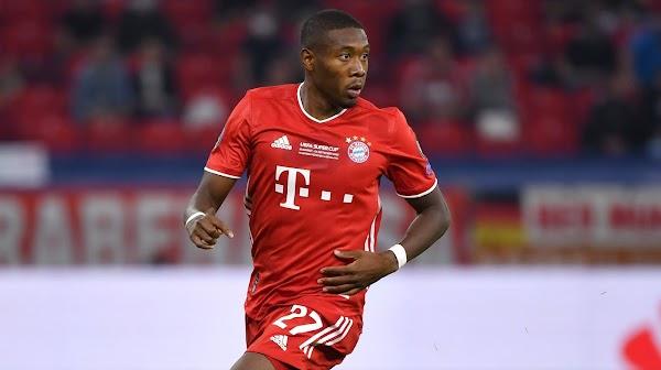 Oficial: David Alaba no seguirá en el Bayern Múnich en 2021