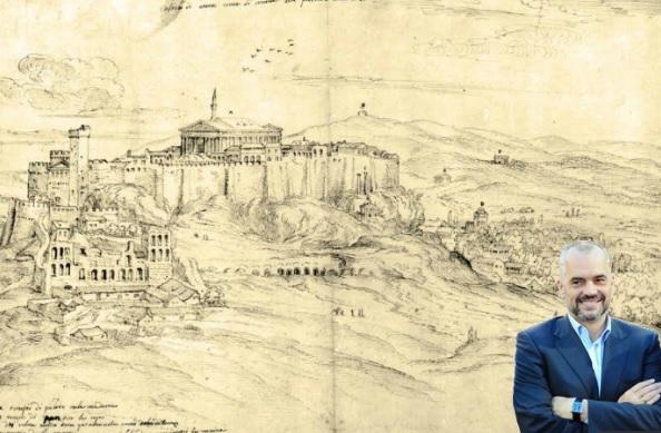 Rama: Acropolis exist thanks to Albanians. Greek media go crazy