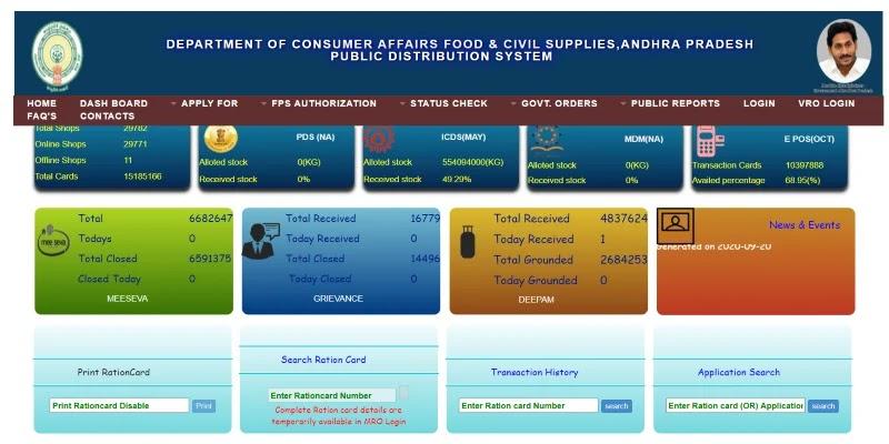 AP Ration Card List 2021: EPDS Ration Card List, Download epdsap.ap.gov.in | सरकारी योजनाएँ