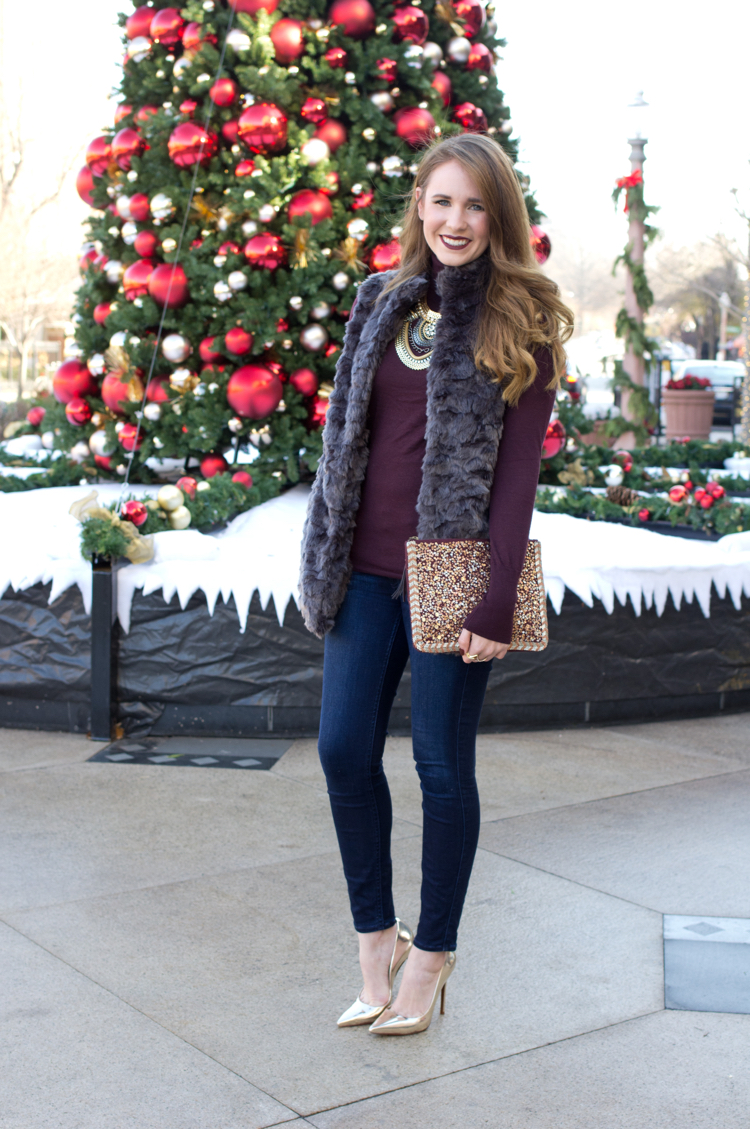 bff4d830adf5 Sincerely Jenna Marie | A St. Louis Life and Style Blog: NYE Outfit ...