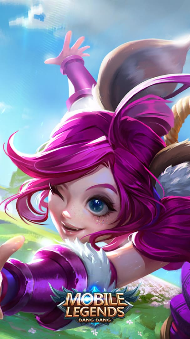 Wallpaper Nana Feline Wizard Skin Mobile Legends HD for Android and iOS