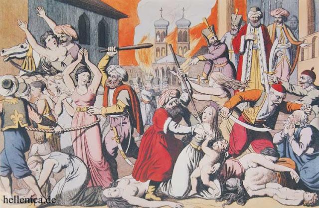 3 Ιουνίου 1397: Ο Γιακούμπ πασάς καταλαμβάνει το Άργος και στέλνει 30.000 αιχμαλώτους στη Μ. Ασία