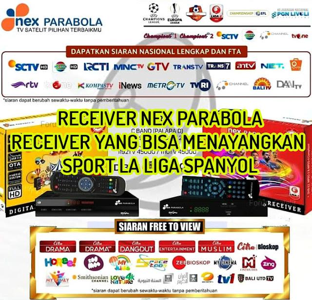 Nex Parabola Dangdut dan Nex Parabola Sports