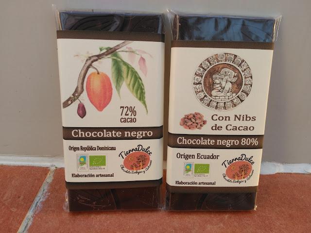 Chocolate negro Tierra Dulce