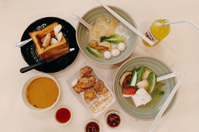 Midvalley the gardens ak fishball food malaysia foodie kl malaysian food blogger cestlajez