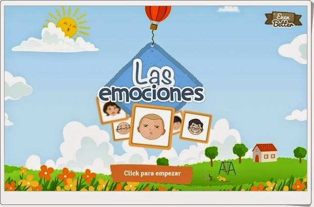 """""""Las emociones"""" (Juego de Educación Emocional)"""