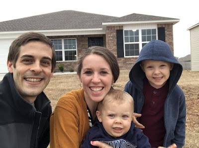 Derick Dillard, Jill Dillard, Samuel Dillard, Israel Dillard new house