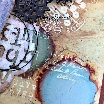 Sara Emily Barker http://sarascloset1.blogspot.com/ He Was Spellbound Alcohol Lift Ink Inventor 1 Gear Head Halloween 6