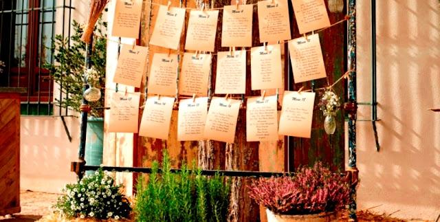 Listas de invitados de boda