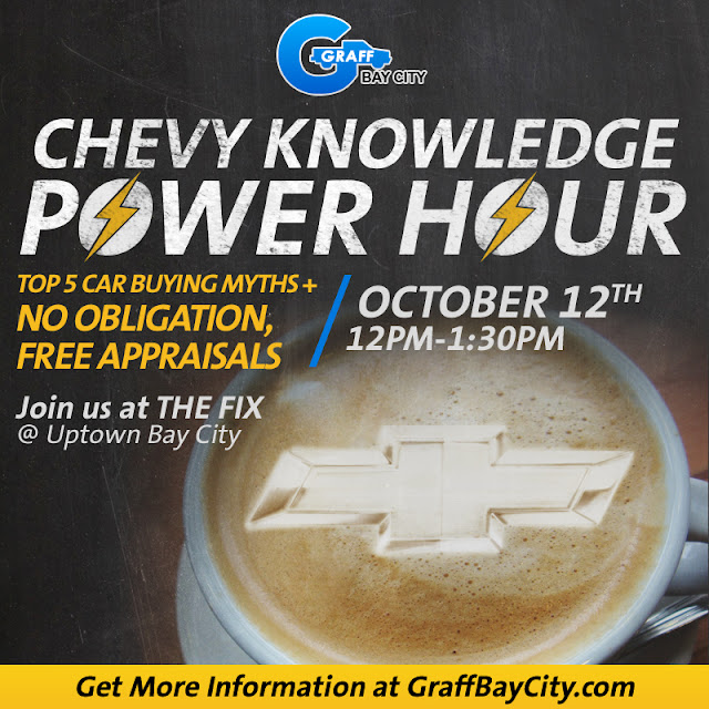Gain Knowledge on Car Buying at Graff Bay City's Chevy Power Hour