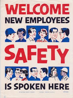 vintage safety posters, safety-in-history, Perilaku Tidak Aman Pekerja Konstruksi, gunadarma, depok, dammar asihan