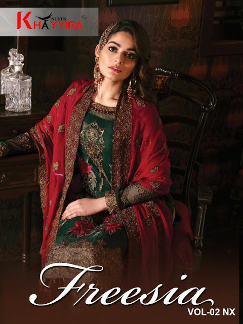 Khayyira Freesia vol 2 Nx Pakistani Suits